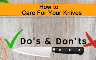 How to Care for your kitchen Knives